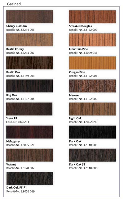 juniper windows color finishes
